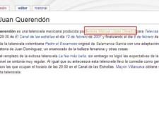 Wikipedia dice que AMLO