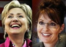 Hillary Clinton y Sara Palin