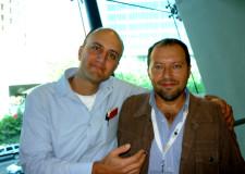 Dos campeones del humorismo blanco- Jis y Martín Solares