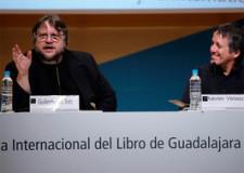 Guillermo del Toro y Xavier Velasco presentaron el libro de Carlos Fuentes sin Carlos Fuentes