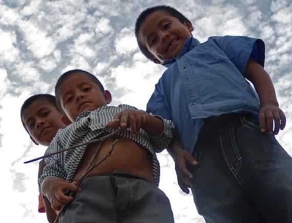Niños de Ayutla