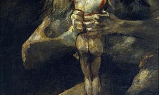 Saturno devorando a su hijo © Goya