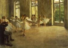 El ensayo, Edgar Degas