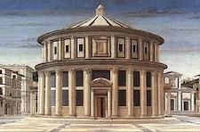 """Piero della Francesca, """"Ciudad Ideal"""". Galleria Nazionale de Urbino, tomado de Wikimedia Commons"""