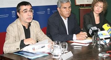 A la izquierda Ramón Jordi Moles Plaza