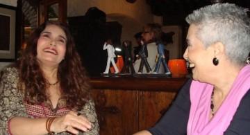 Marta de la Lama con Tania Libertad