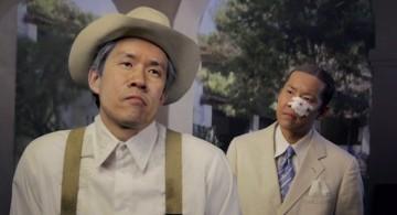 Ming Wong, Making Chinatown (stills), 2012, videoinstalación HD de siete canales con sonido. Cortesía del artista.