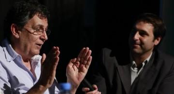 Roberto Guareschi con Juan Mascardi, Congreso Comunicación y Culturas 2.0, UAI Rosario
