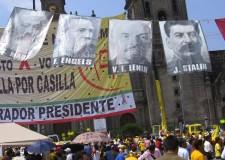 Marx-Engels-Lenin-Stalin-fly-at-rally