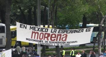 Simpatizantes Morena