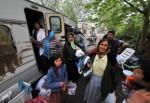 Gitanos expulsados Foto © Esther Benbassa