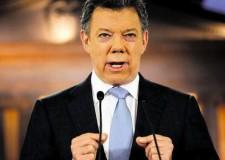 El presidente Santos