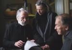 Haneke con Trintignant y Riva