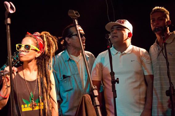 En el concierto © Gustavo Isola.