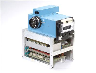 La primera cámara digital, de 1975.