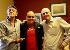 Trino, Blumpi y Jis. Foto © Edgar Olivares Álvarez.