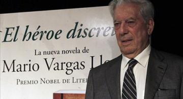 Vargas Llosa, su presencia y su nueva novela.