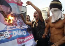 La violencia crece en Venezuela.