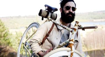 Mi bici y yo.